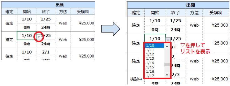 03_過去問管理表_プルダウン説明